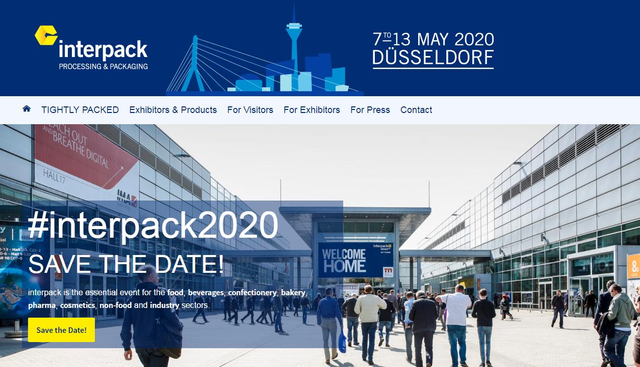 نمایشگاه آلمان Interpack 2020