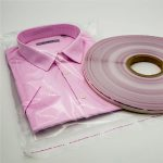 PE کیسه بسته بندی نوار برای کیسه های لباس